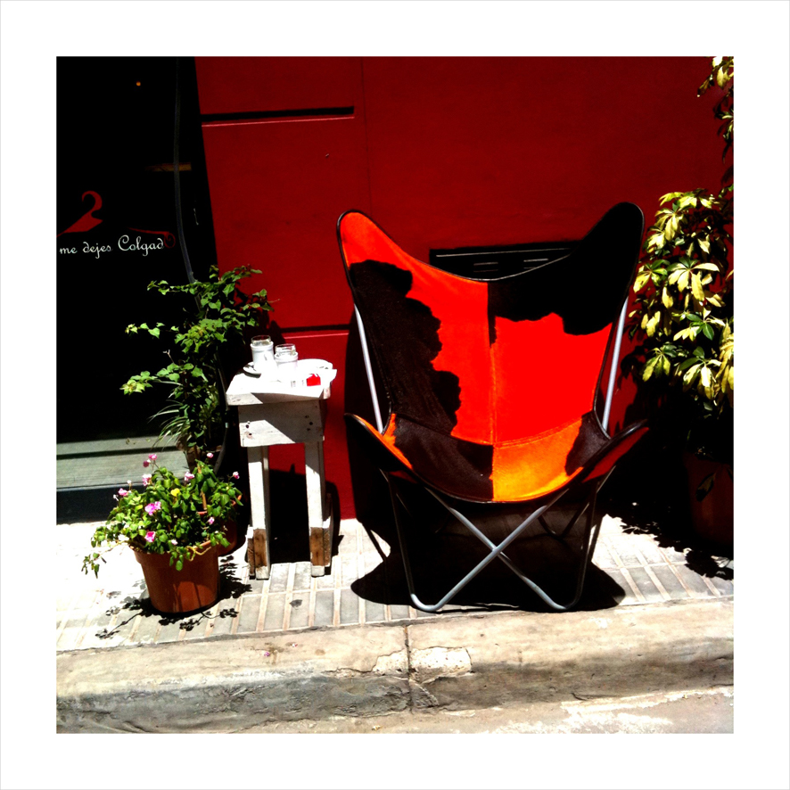 Chair in Buenos Aires