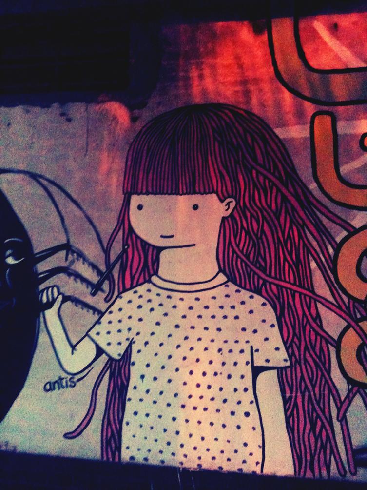 Graffiti in Palermo Viejo 01