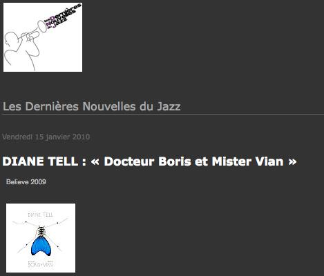 Les dernieres nouvelles du jazz