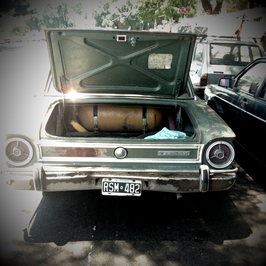 Open Trunk Car
