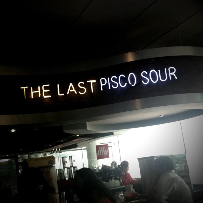 last pisco sour