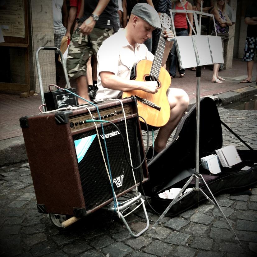 Le Guitariste de rue