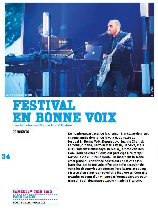 festival en bonne voix