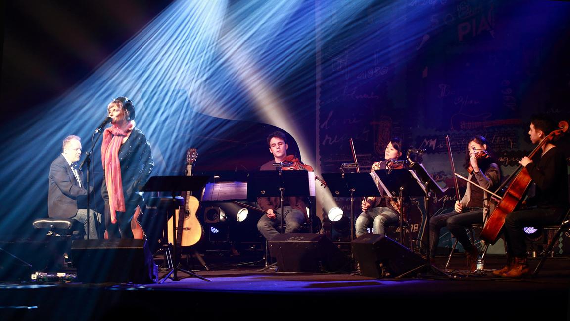 en concert avec Vincent Rehel et le Quatuor Hermès