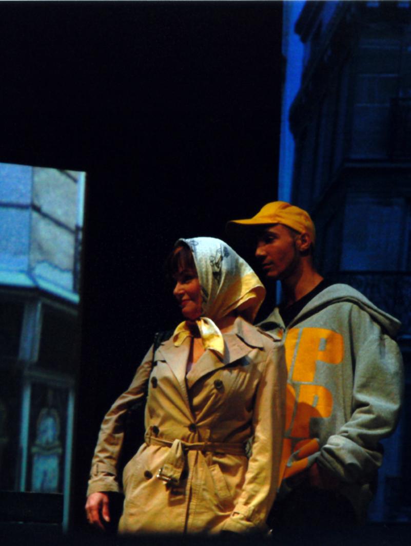 St-Cyr et Diane dans la première scène de JMVD