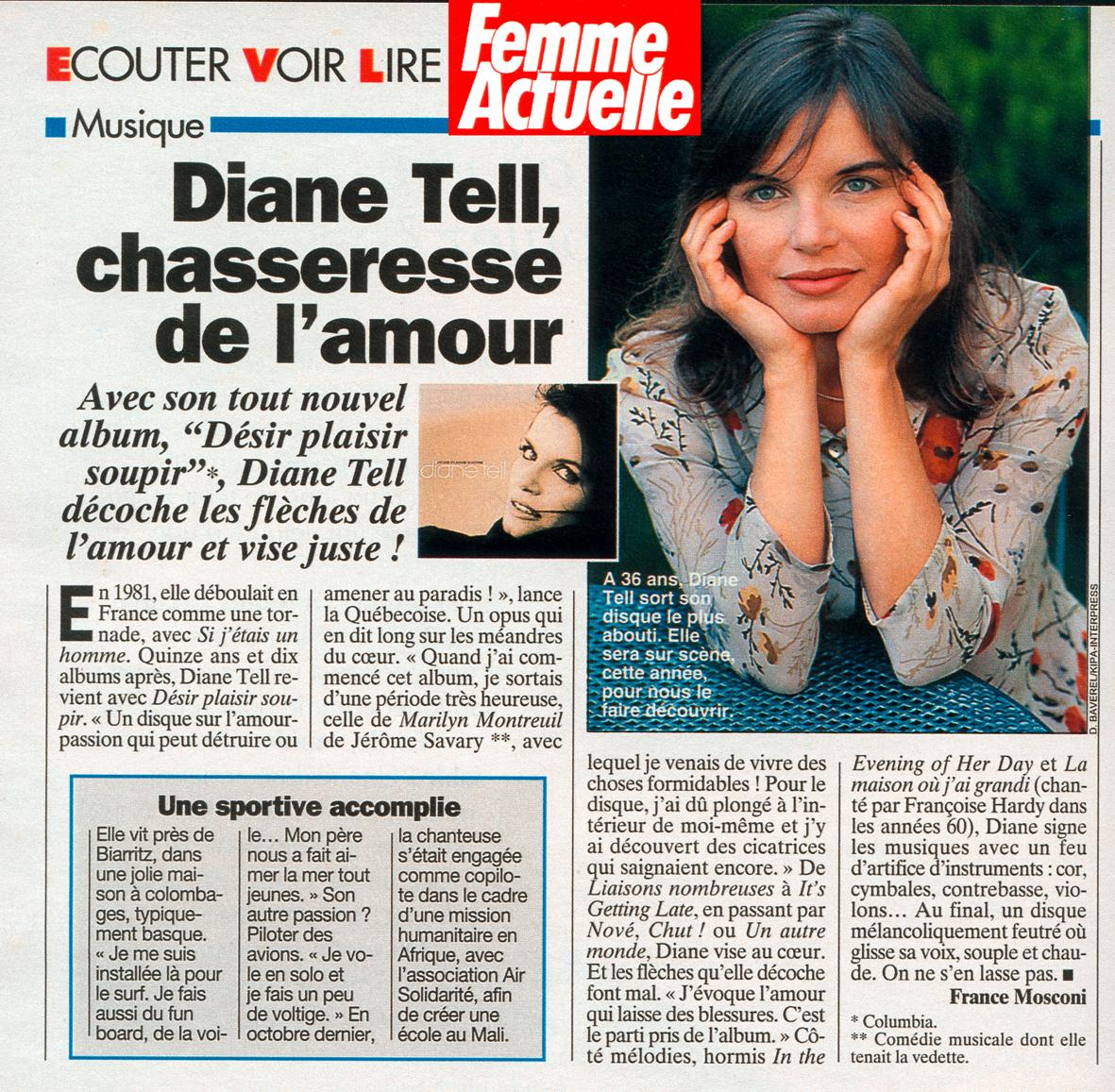 Femme Actuelle – Désir Plaisir Soupir 1996