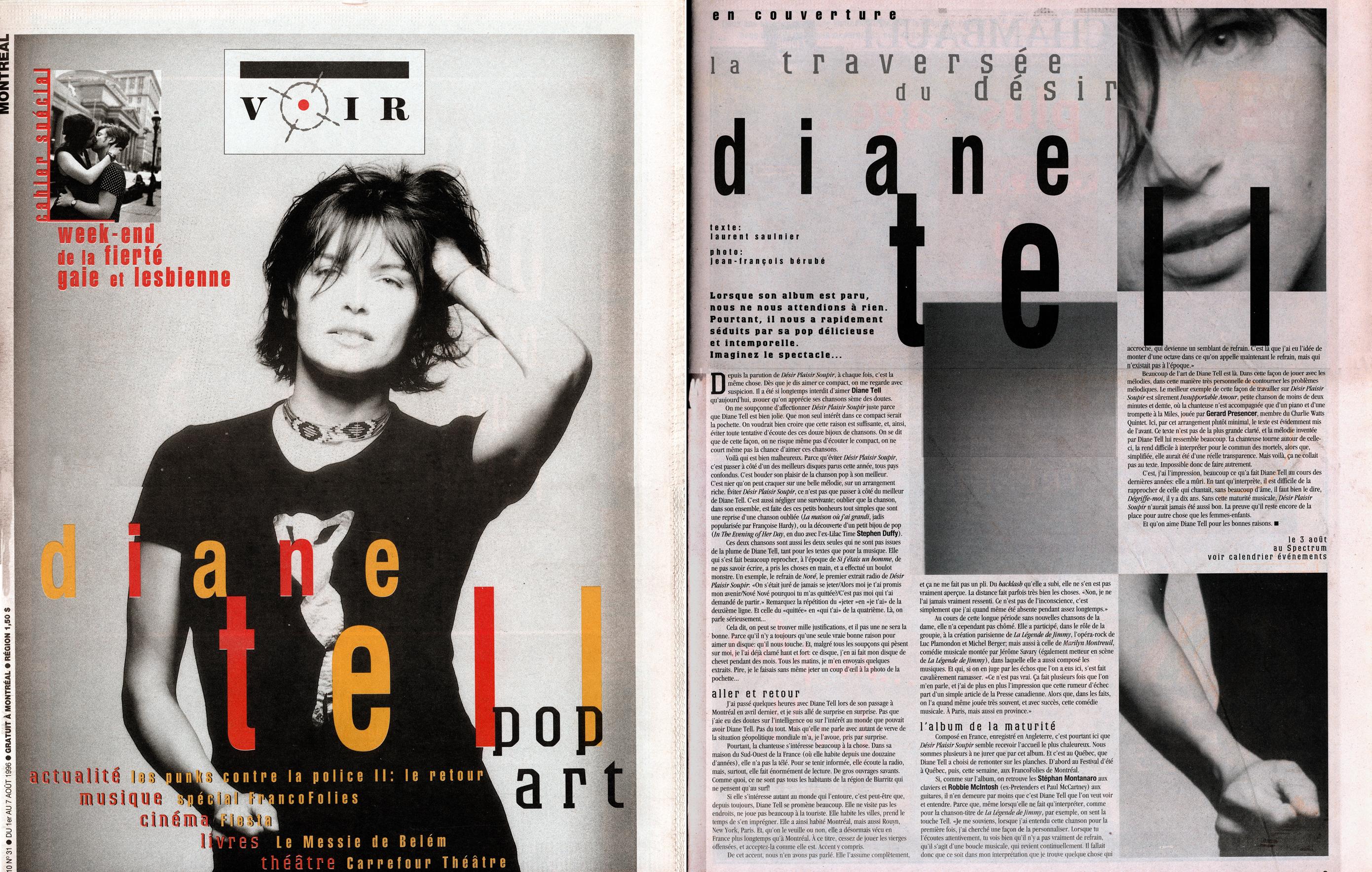 Voir – Désir Plaisir Soupir 1996