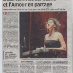 La Provence – En concert – Critique le 8 octobre 2013